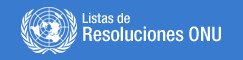 Lista Resoluciones ONU